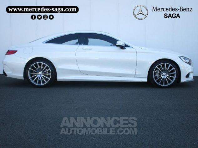 Mercedes Classe S 500 4Matic 7G-Tronic Plus Blanc Diamant Designo Occasion - 2