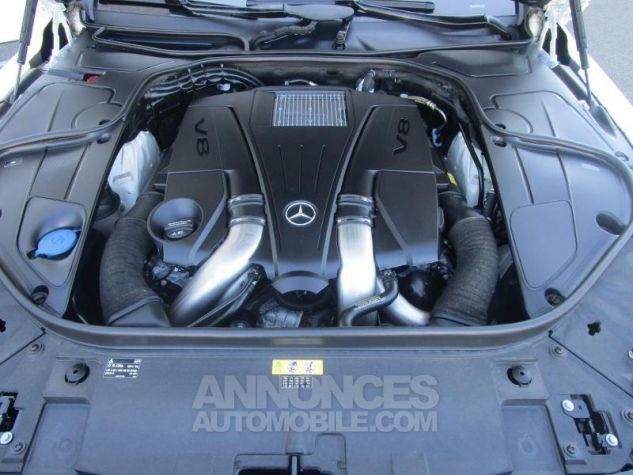 Mercedes Classe S 500 4Matic 7G-Tronic Plus Blanc Diamant Designo Occasion - 8