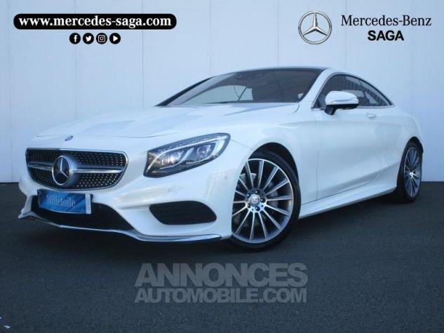 Mercedes Classe S 500 4Matic 7G-Tronic Plus Blanc Diamant Designo Occasion - 0