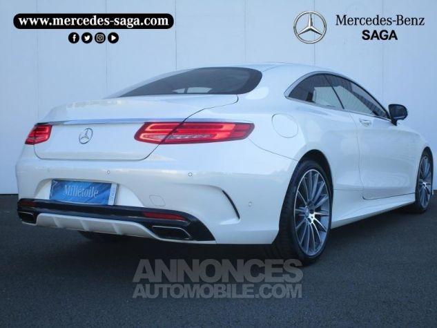 Mercedes Classe S 500 4Matic 7G-Tronic Plus Blanc Diamant Designo Occasion - 1