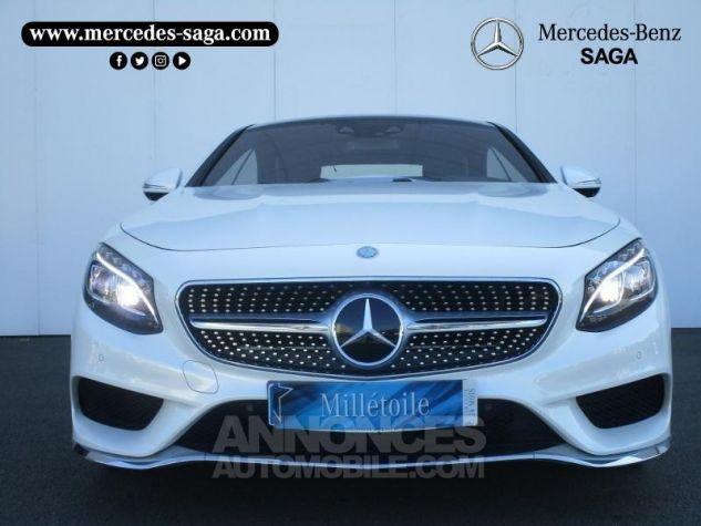 Mercedes Classe S 500 4Matic 7G-Tronic Plus Blanc Diamant Designo Occasion - 19
