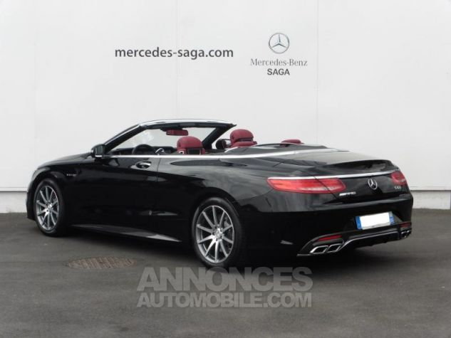 Mercedes Classe S 63 AMG 4Matic Speedshift MCT AMG noir obsidienne Occasion - 4