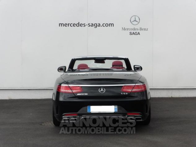 Mercedes Classe S 63 AMG 4Matic Speedshift MCT AMG noir obsidienne Occasion - 5