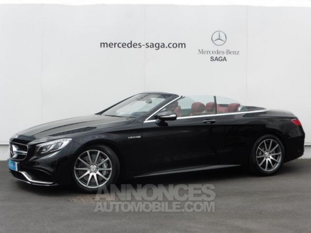 Mercedes Classe S 63 AMG 4Matic Speedshift MCT AMG noir obsidienne Occasion - 0