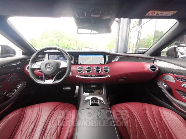 Mercedes Classe S 63 AMG 4Matic Speedshift MCT AMG noir obsidienne Occasion - 2