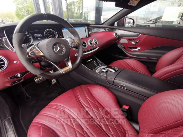 Mercedes Classe S 63 AMG 4Matic Speedshift MCT AMG noir obsidienne Occasion - 3