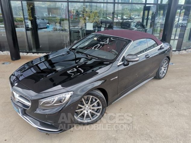 Mercedes Classe S 63 AMG 4Matic Speedshift MCT AMG noir obsidienne Occasion - 6