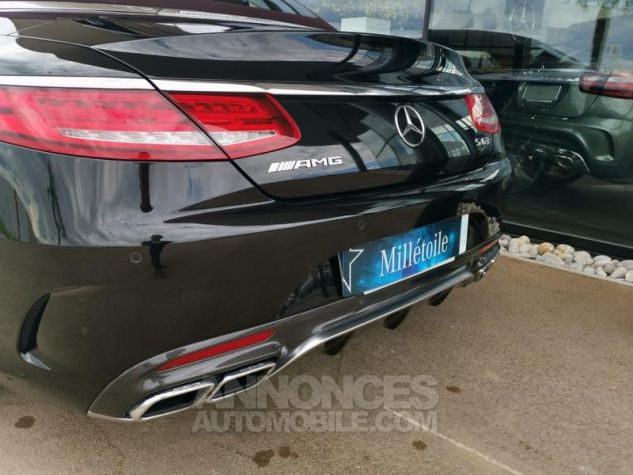 Mercedes Classe S 63 AMG 4Matic Speedshift MCT AMG noir obsidienne Occasion - 16