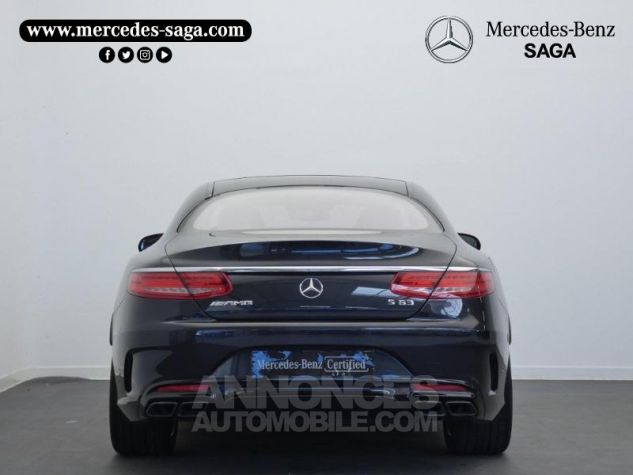 Mercedes Classe S 63 AMG 4Matic Speedshift MCT AMG Noir Magnetite Occasion - 7