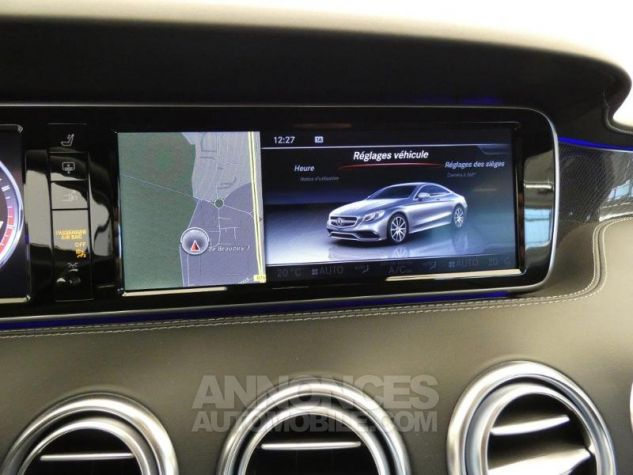 Mercedes Classe S 63 AMG 4Matic Speedshift MCT AMG Noir Magnetite Occasion - 10