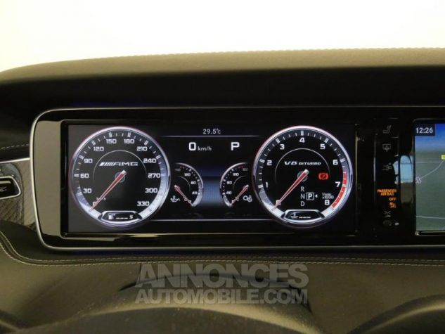 Mercedes Classe S 63 AMG 4Matic Speedshift MCT AMG Noir Magnetite Occasion - 12