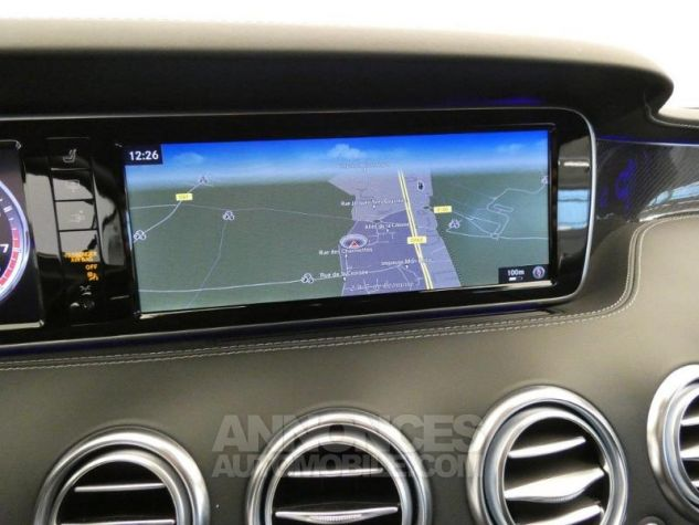 Mercedes Classe S 63 AMG 4Matic Speedshift MCT AMG Noir Magnetite Occasion - 15