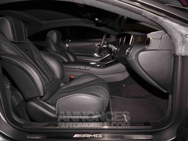 Mercedes Classe S 63 AMG COUPE GRIS MAT  Occasion - 8