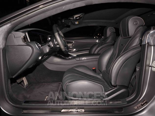 Mercedes Classe S 63 AMG COUPE GRIS MAT  Occasion - 9