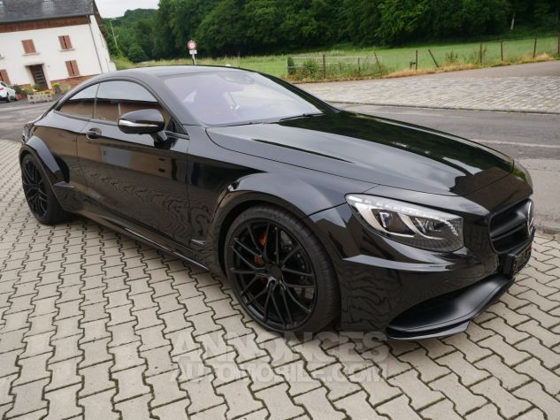 Mercedes Classe S 63 AMG Coupé 4Matic Edition 1, HUD, TV, SWAROVSKI Noir Obsidienne métallisé Occasion - 2
