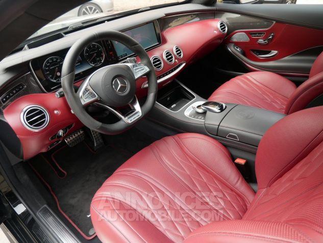 Mercedes Classe S 63 AMG Coupé 4Matic Edition 1, HUD, TV, SWAROVSKI Noir Obsidienne métallisé Occasion - 5