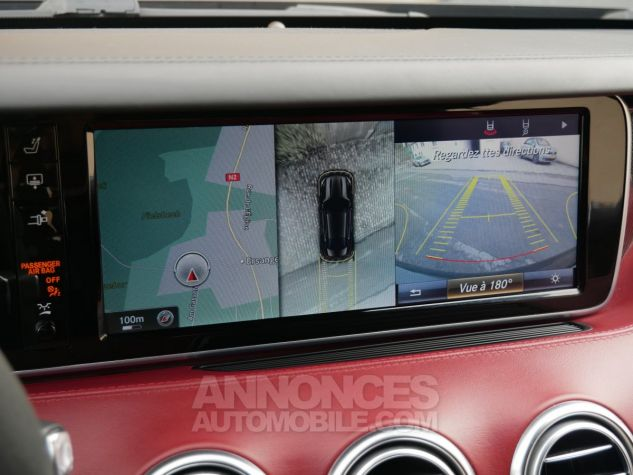 Mercedes Classe S 63 AMG Coupé 4Matic Edition 1, HUD, TV, SWAROVSKI Noir Obsidienne métallisé Occasion - 18