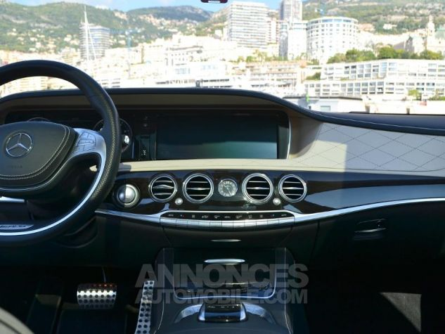 Mercedes Classe S 63 AMG L 4Matic Speedshift MCT Noir Magnetite Occasion - 11