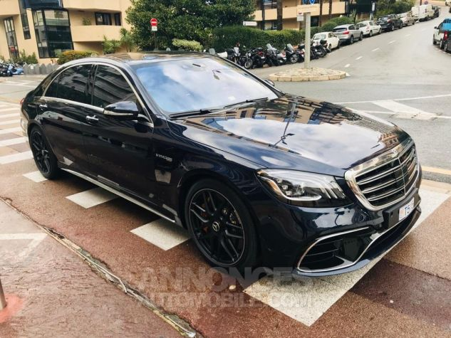 Mercedes Classe S metalise blue Occasion - 0