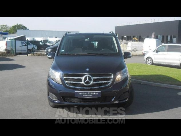 Mercedes Classe V 200 CDI Long bleu fonce Occasion - 4