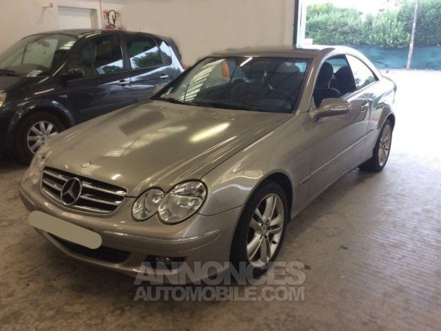 Mercedes CLK C209 320 CDI AVANTGARDE 7GTRO GRIS Occasion - 0