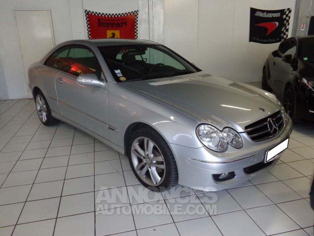 Mercedes CLK II 220 CDI AVANTGARDE gris clair verni Occasion - 2