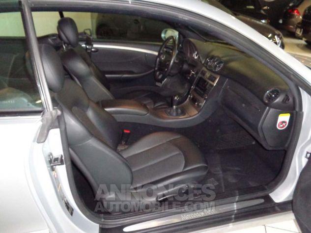 Mercedes CLK II 220 CDI AVANTGARDE gris clair verni Occasion - 4