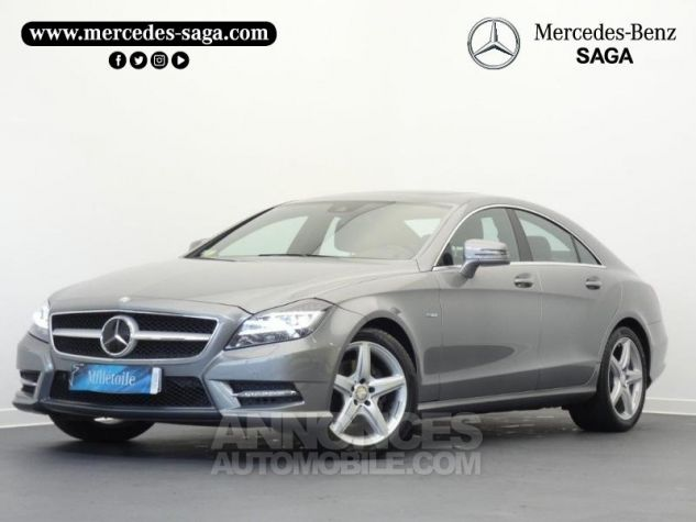 Mercedes CLS 350 CDI Argent Palladium Occasion - 0