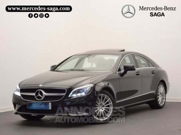 Mercedes CLS 350 d Executive 4Matic 9G-Tronic Noir Obsidienne Occasion - 0