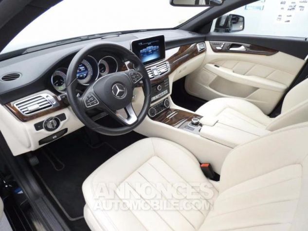 Mercedes CLS 350 d Executive 4Matic 9G-Tronic Noir Obsidienne Occasion - 8