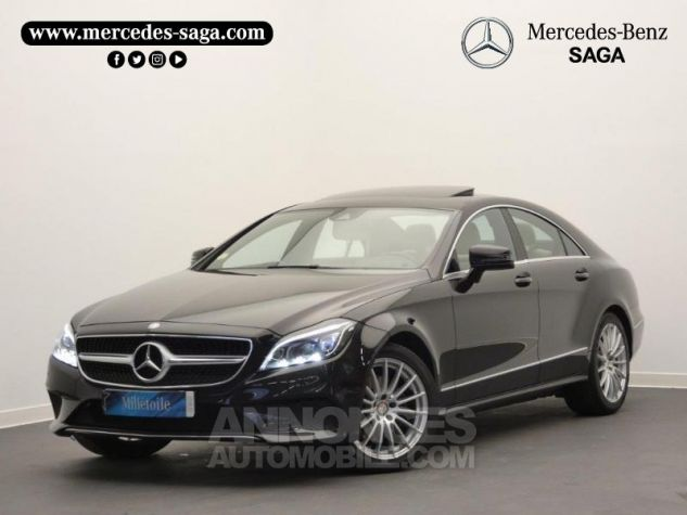 Mercedes CLS 350 d Executive 4Matic 9G-Tronic Noir Obsidienne Occasion - 0