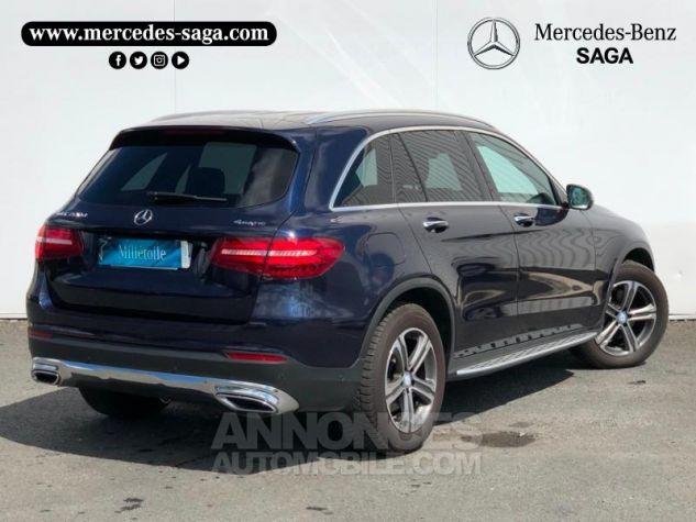 Mercedes GLC 220 d 170ch Business Executive 4Matic 9G-Tronic BLEU F Occasion - 1