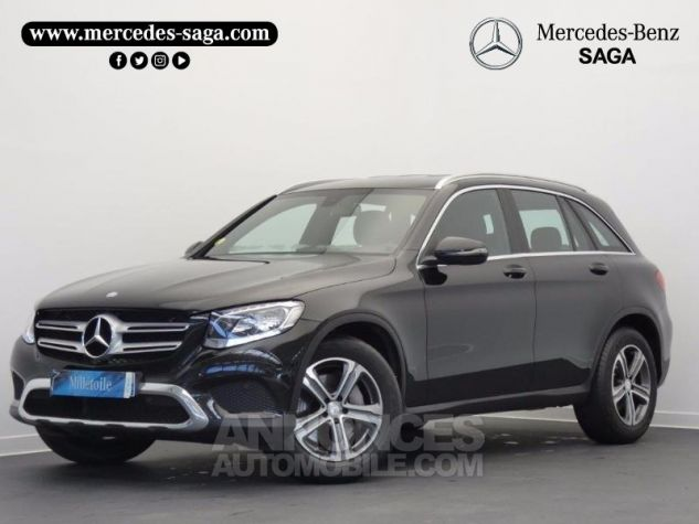 Mercedes GLC 220 d 170ch Executive 4Matic 9G-Tronic Noir Obsidienne Occasion - 0