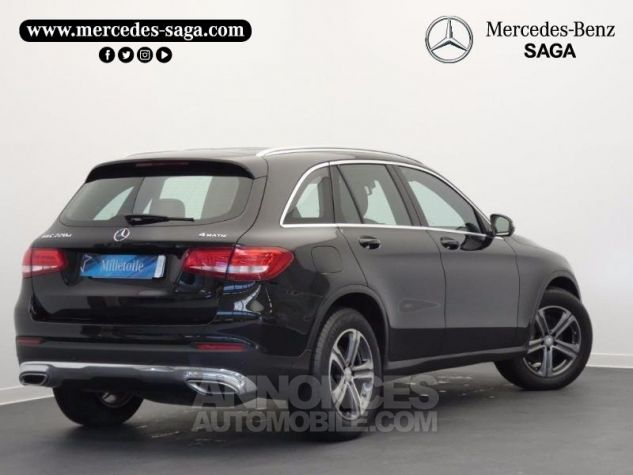 Mercedes GLC 220 d 170ch Executive 4Matic 9G-Tronic Noir Obsidienne Occasion - 1