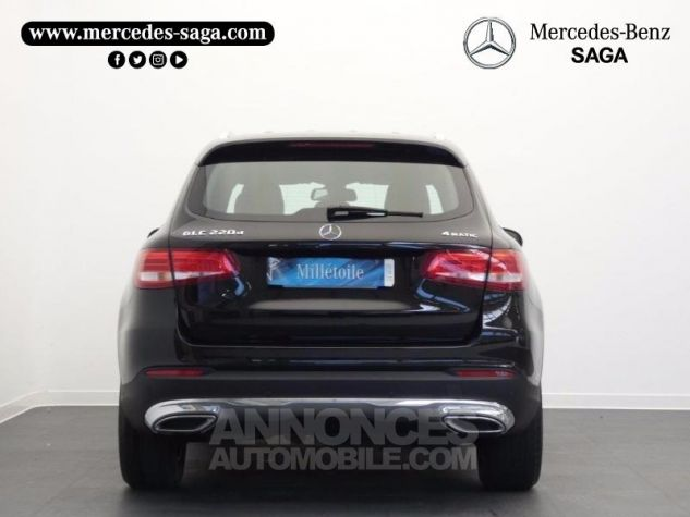 Mercedes GLC 220 d 170ch Executive 4Matic 9G-Tronic Noir Obsidienne Occasion - 7