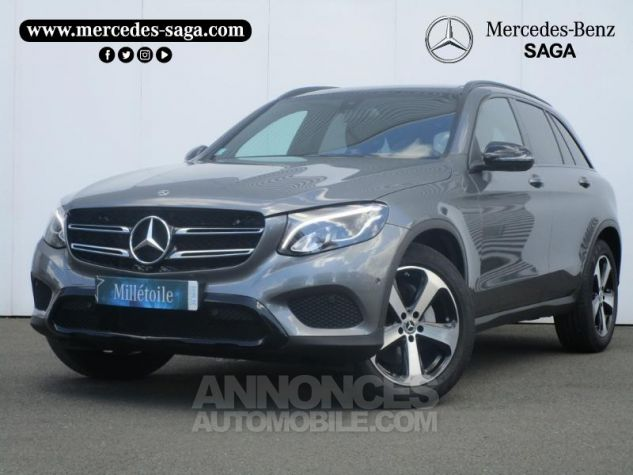 Mercedes GLC 220 d 170ch Executive 4Matic 9G-Tronic GRIS SELENITE Occasion - 0