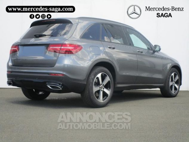 Mercedes GLC 220 d 170ch Executive 4Matic 9G-Tronic GRIS SELENITE Occasion - 1