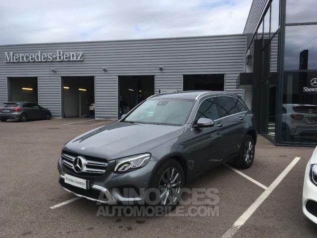 Mercedes GLC 220 d 170ch Fascination 4Matic 9G-Tronic GRIS SELENITE Occasion - 0