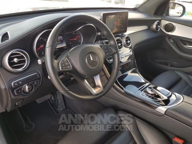 Mercedes GLC 220 d 170ch Fascination 4Matic 9G-Tronic GRIS SELENITE Occasion - 11