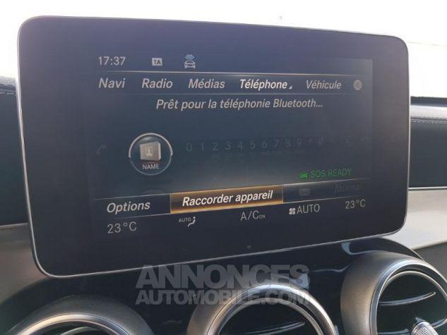 Mercedes GLC 220 d 170ch Fascination 4Matic 9G-Tronic GRIS SELENITE Occasion - 17