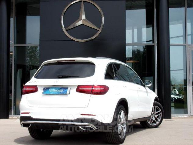 Mercedes GLC 220 d 170ch Sportline 4Matic 9G-Tronic blanc Occasion - 1