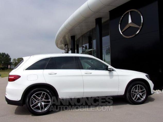 Mercedes GLC 220 d 170ch Sportline 4Matic 9G-Tronic blanc Occasion - 12