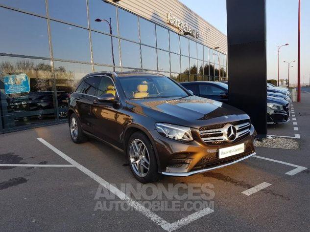 Mercedes GLC 220 d 170ch Sportline 4Matic 9G-Tronic MARRON CITRINE Occasion - 0