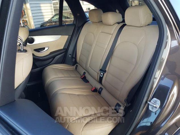 Mercedes GLC 220 d 170ch Sportline 4Matic 9G-Tronic MARRON CITRINE Occasion - 8