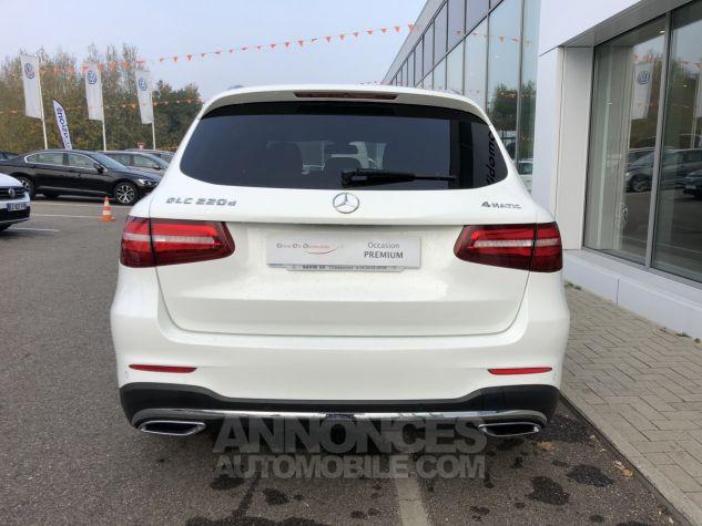 Mercedes GLC 220 d 170ch Sportline 4Matic 9G-Tronic Blanc Polaire Occasion - 4