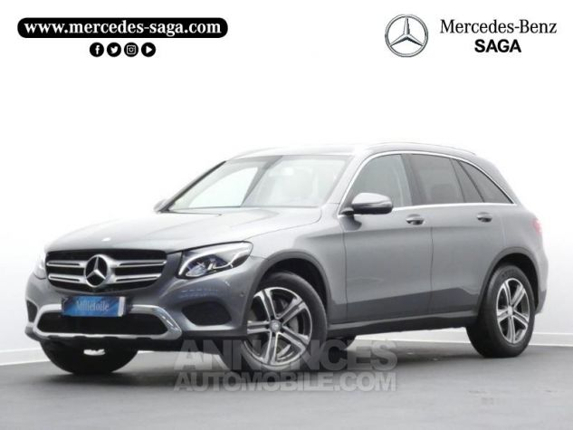 Mercedes GLC 250 d 204ch Executive 4Matic 9G-Tronic Gris Sélénite Occasion - 0