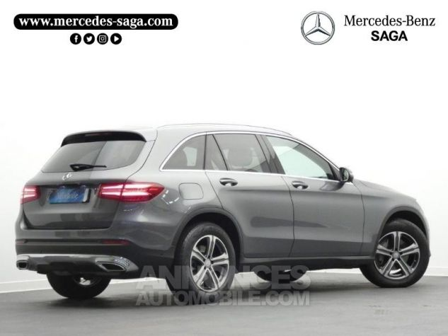 Mercedes GLC 250 d 204ch Executive 4Matic 9G-Tronic Gris Sélénite Occasion - 1