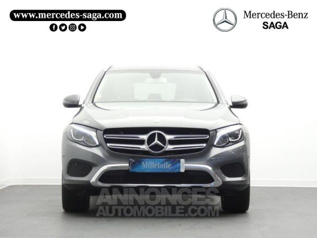 Mercedes GLC 250 d 204ch Executive 4Matic 9G-Tronic Gris Sélénite Occasion - 4