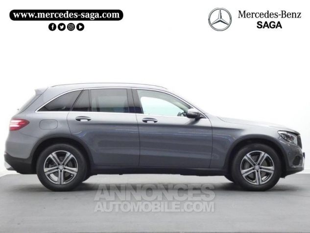Mercedes GLC 250 d 204ch Executive 4Matic 9G-Tronic Gris Sélénite Occasion - 5