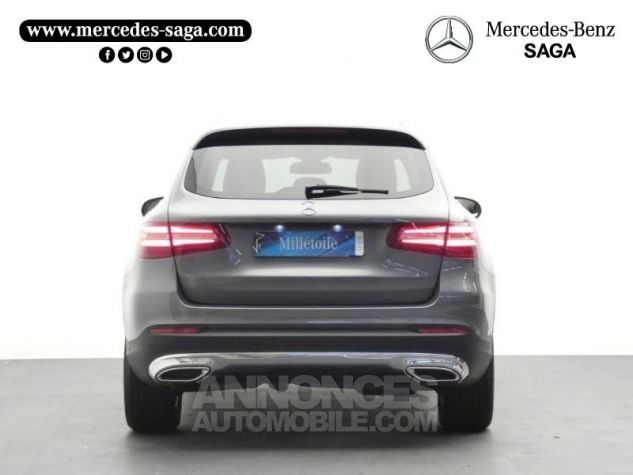 Mercedes GLC 250 d 204ch Executive 4Matic 9G-Tronic Gris Sélénite Occasion - 6